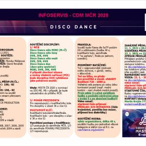 Mistrovství ČR - disco dance solo